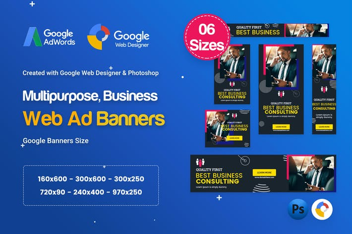 Thumbnail for Multi-Purpose Banners HTML5 D74 Ad - GWD & PSD