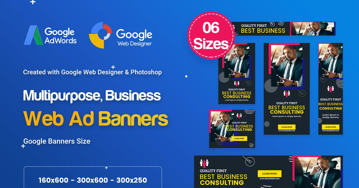 Download Multi-Purpose Banners HTML5 D74 Ad - GWD & PSD by iDoodle