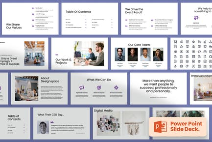 Minimal Agency Pitch and Company Profile
