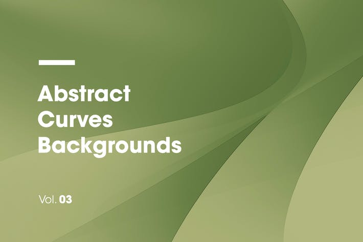 Cover Image For Abstract Curves Backgrounds | Vol. 03