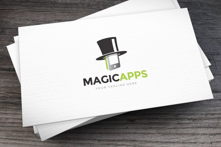 Thumbnail for Magic Apps Logo Template