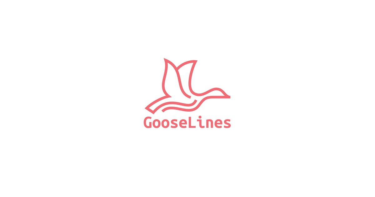 Download Goose Lines Logo by 3ab2ou
