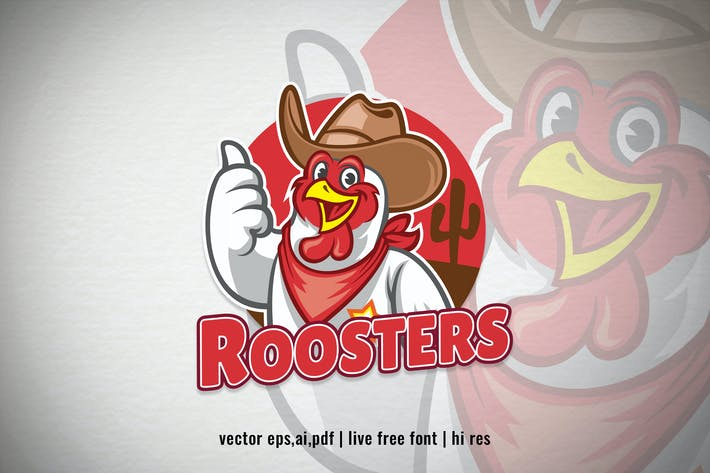 Thumbnail for chicken cowboy style thumb up