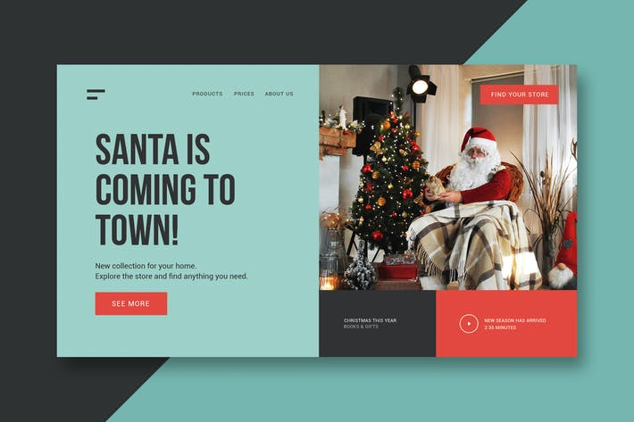 Cover Image For Gifts & Christmas - Landing Page