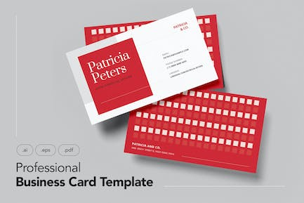 Professional and Minimalist Business Card V.19
