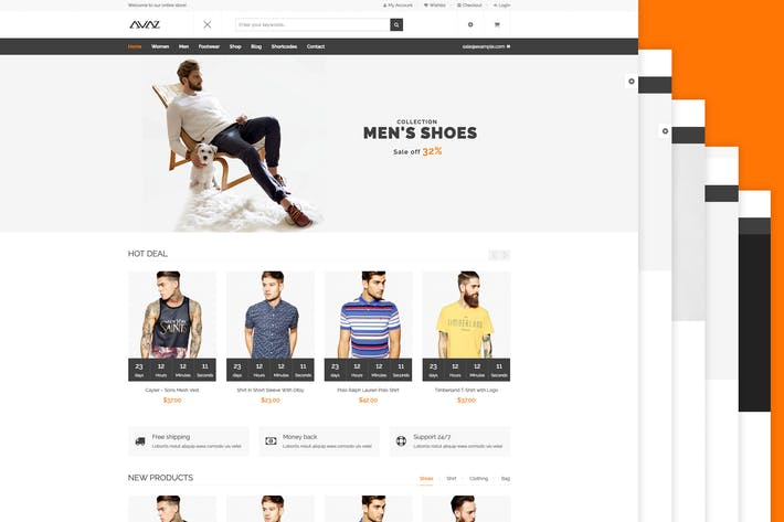 Thumbnail for Avaz - Fashion WooCommerce Wordpress Theme