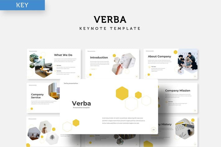 Thumbnail for Verba - Шаблон Keynote