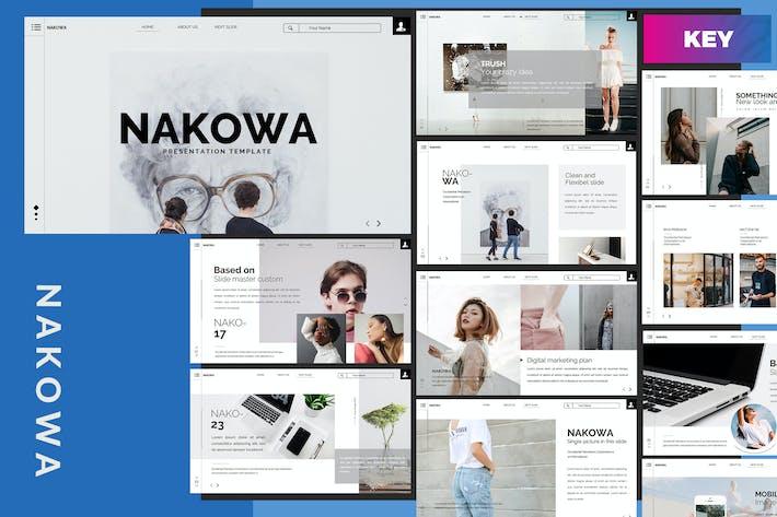 Thumbnail for Nakowa Minimal - Keynote Template