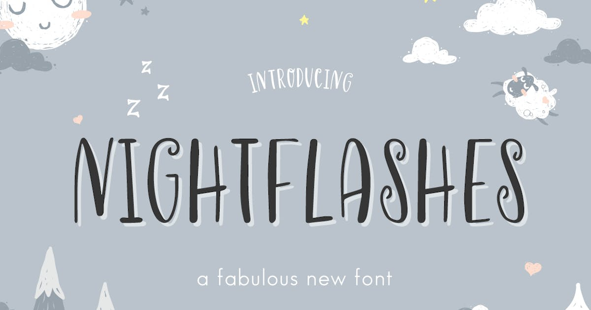 Download Nightflashes Font by maroonbaboon