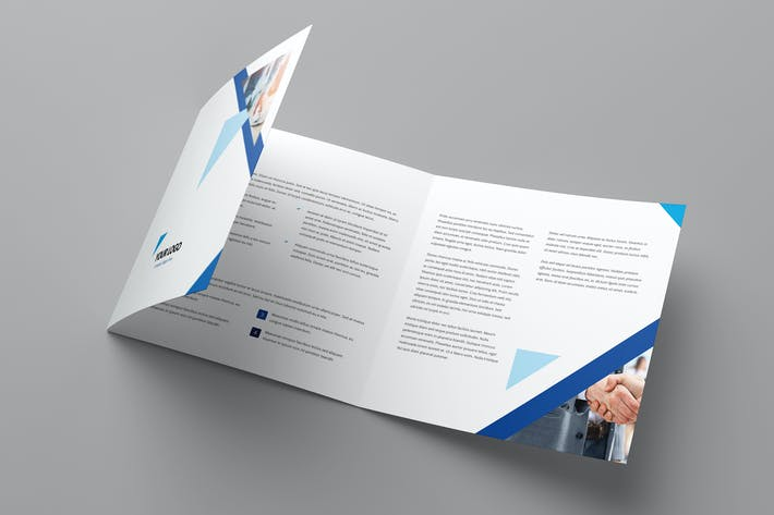 Cover Image For Brochure – Triangle Multipurpose Tri-Fold Square