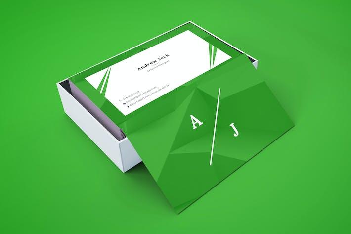 Thumbnail for Creative Designer Business Card