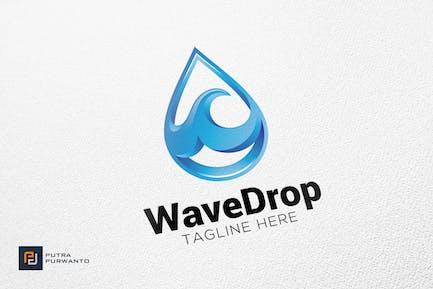 Wave Drop - Logo Template