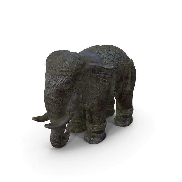 Elephant Statue Marble