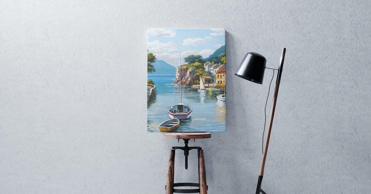 Download Canvas Frame Mockup by StreetD
