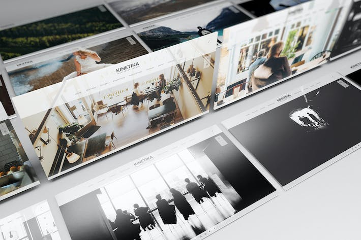 Thumbnail for Perspective presentation Web Mockup 02