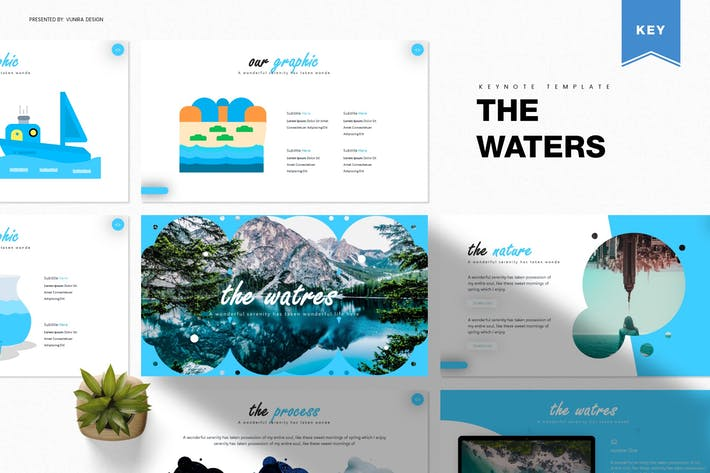 Thumbnail for The Waters | Keynote Template