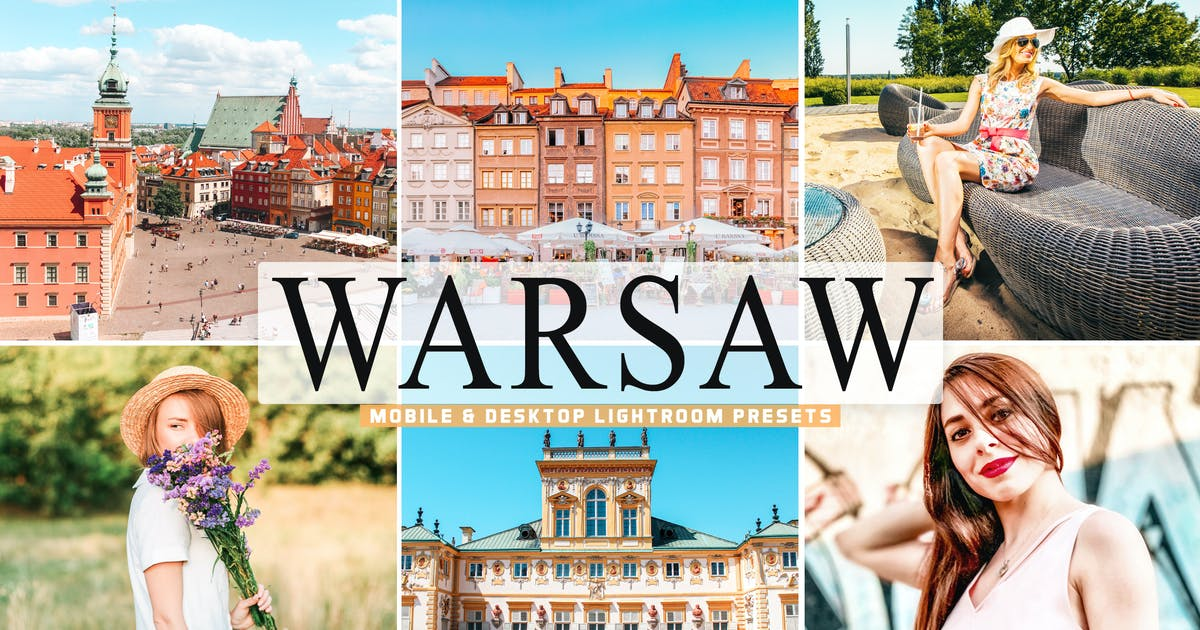 Download Warsaw Mobile & Desktop Lightroom Presets by creativetacos