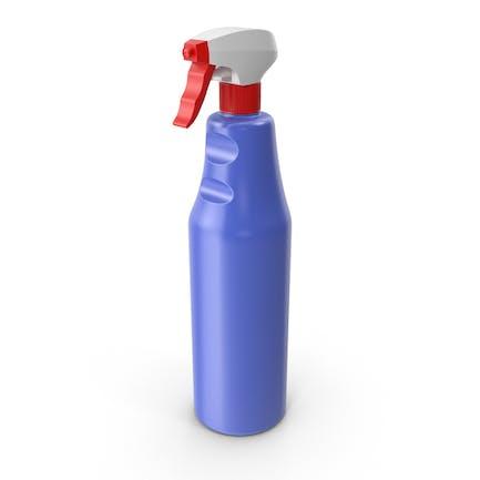 Botella de detergente en spray