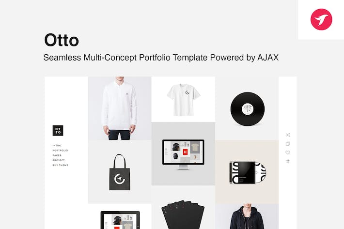 Thumbnail for Otto - Seamless Multi-Concept Portfolio Template