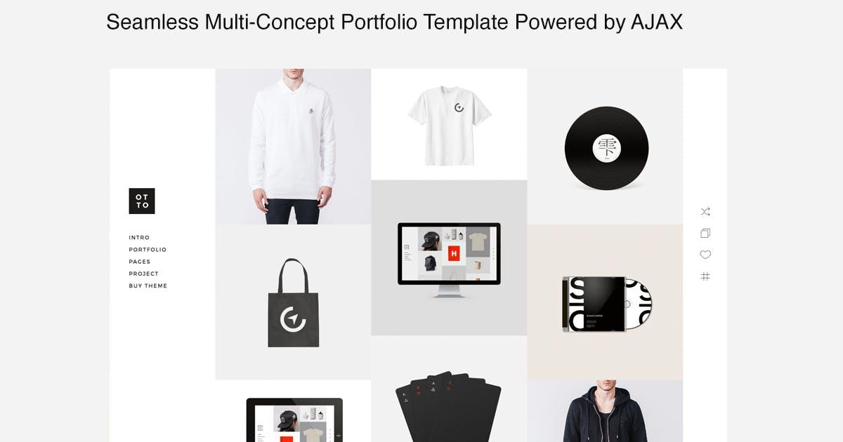 Download Otto - Seamless Multi-Concept Portfolio Template by designova