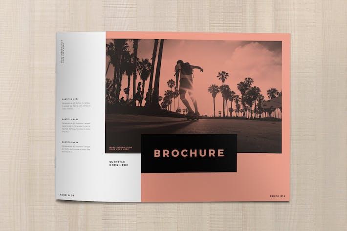 Thumbnail for Minimal White Simple Brochure