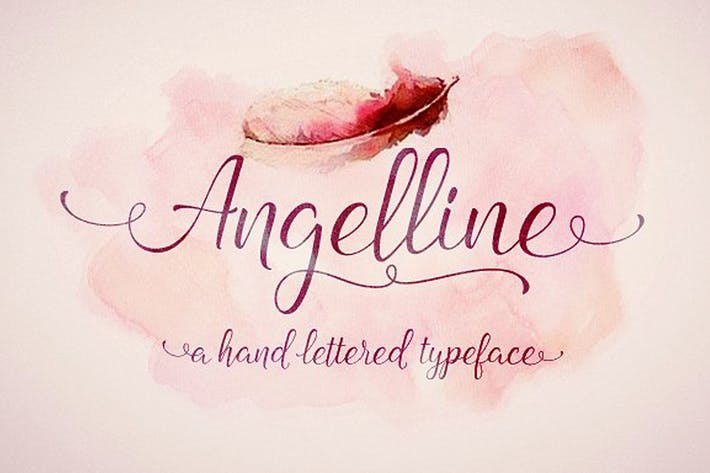 Thumbnail for Angelline Script