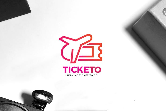 Thumbnail for Travel Ticket Logo