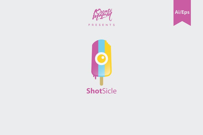 Thumbnail for ShotSicle Logo Template