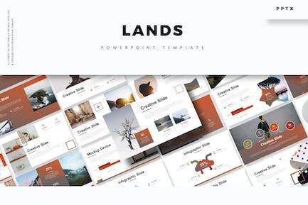 Lands - Plantilla Powerpoint