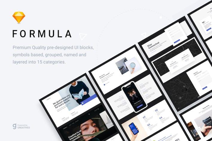 Thumbnail for Formula - Web UI Kit