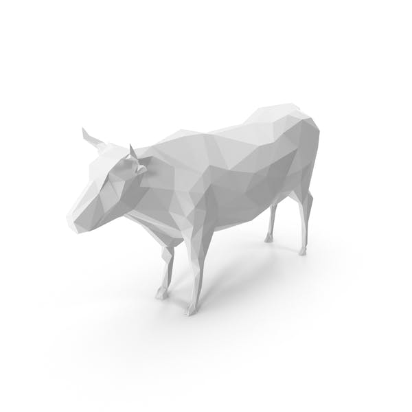 Low Poly Cow by PixelSquid360 on Envato Elements