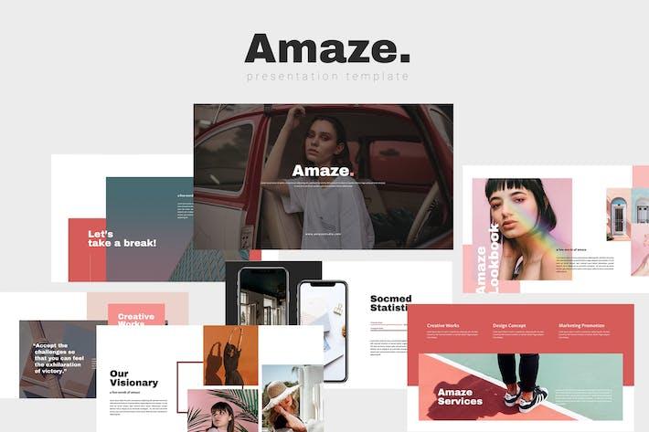 Amaze - Photography Keynote Template