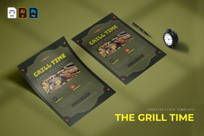Thumbnail for Grill Time | Flyer