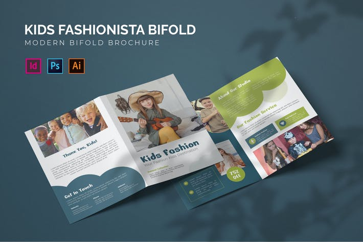 Kids Fashionista - Bifold Broschüre