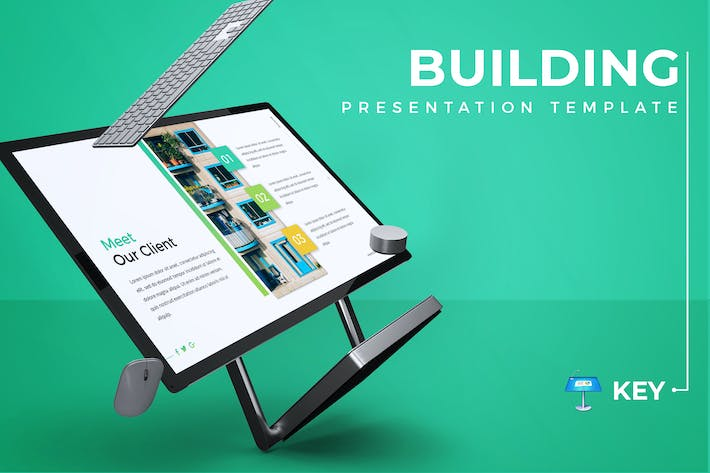 Thumbnail for Building - Keynote Template