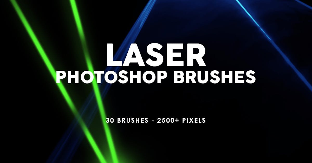 Download 30 Laser Photoshop Stamp Brushes by M-e-f