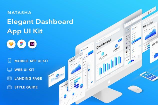 Natasha - Responsive Dashboard UI Kit