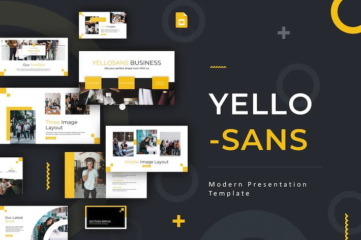 Thumbnail for Yellosans - Google Slides Template