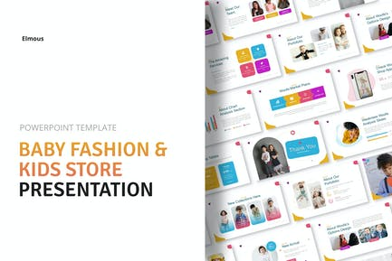 Woofa Baby Fashion & Kids Store Powerpoint Present