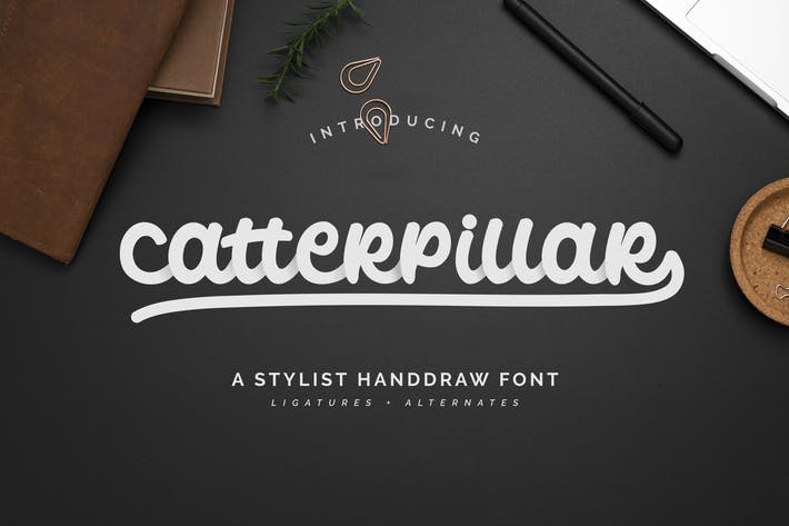 Thumbnail for Catterpillar Font