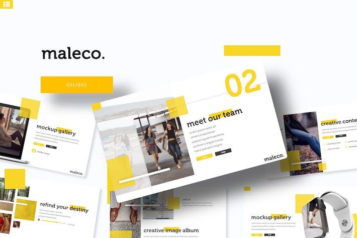 Thumbnail for Maleco - Google Slide Template