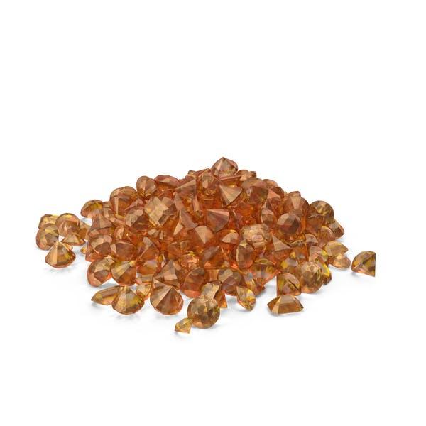 Amber Diamonds Pile