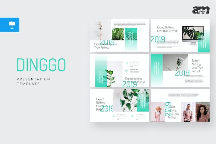 Thumbnail for Dinggo - Keynote Template