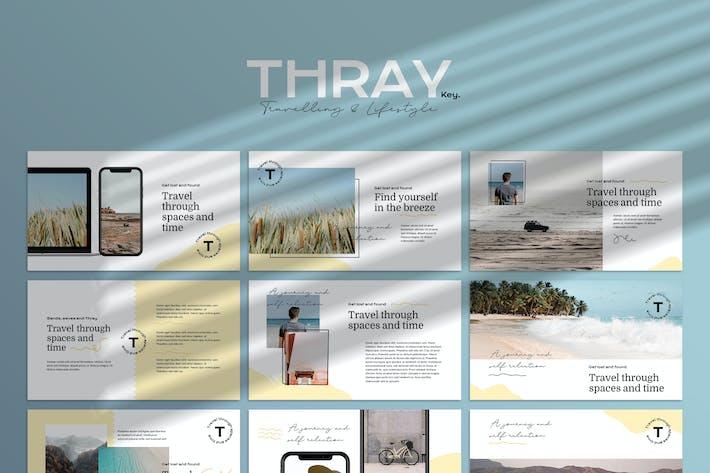 Thumbnail for THRAY - Moderne Keynote Vorlage