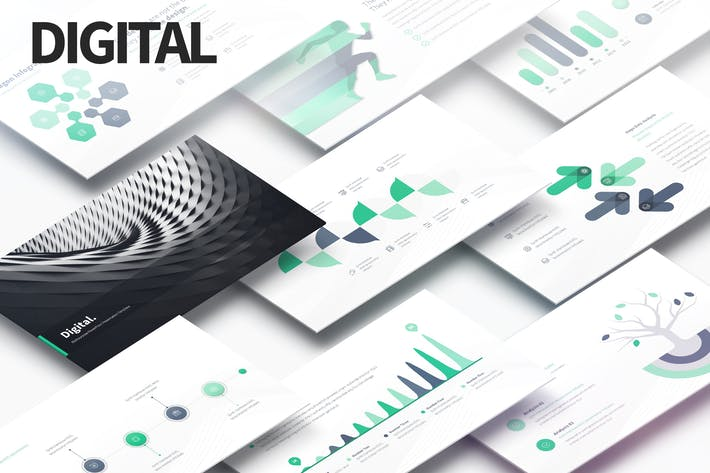 Cover Image For Digital - Multipurpose PowerPoint Presentation