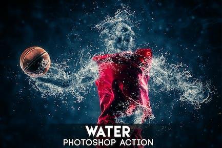 Водный Photoshop действие