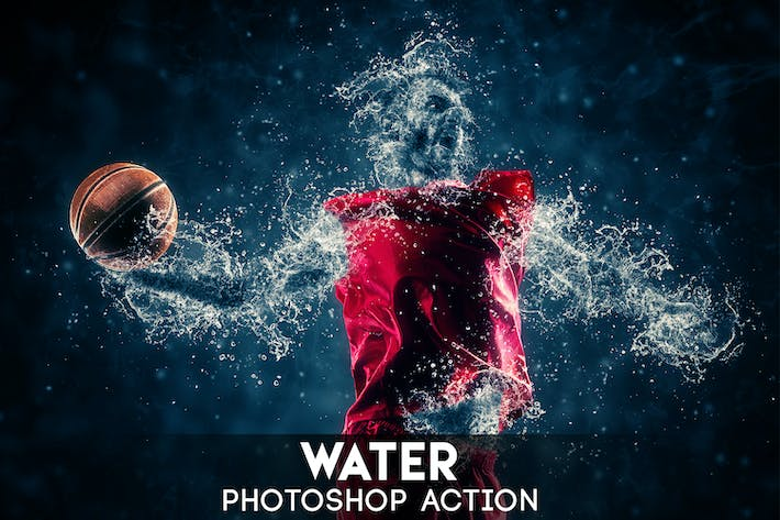 Thumbnail for Water Photoshop Action