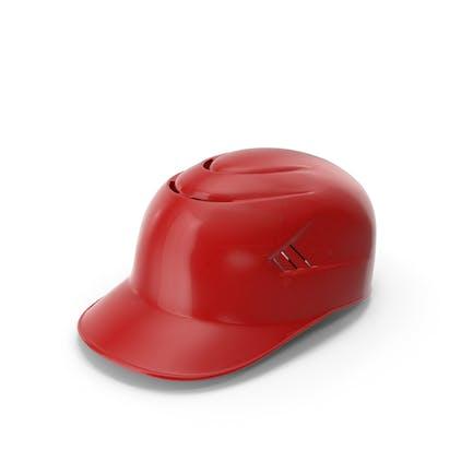 Baseball Catchers Helm mit Polsterung Rot