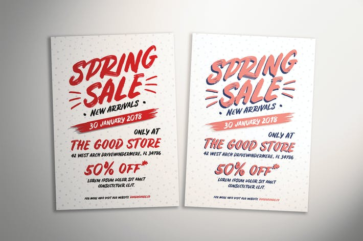 Thumbnail for Spring Sale Flyer