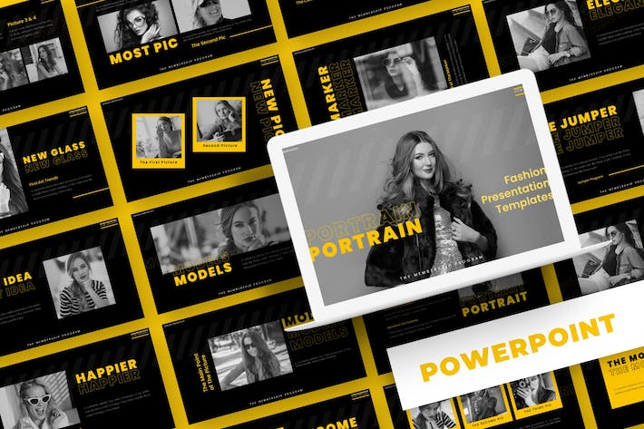 Thumbnail for Portrain - Powerpoint Template